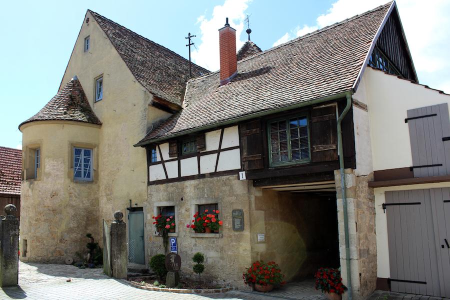 Geyer-Schloss Eingang